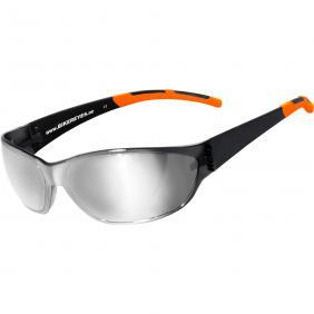 Bikereyes Airshade Brille laser silver